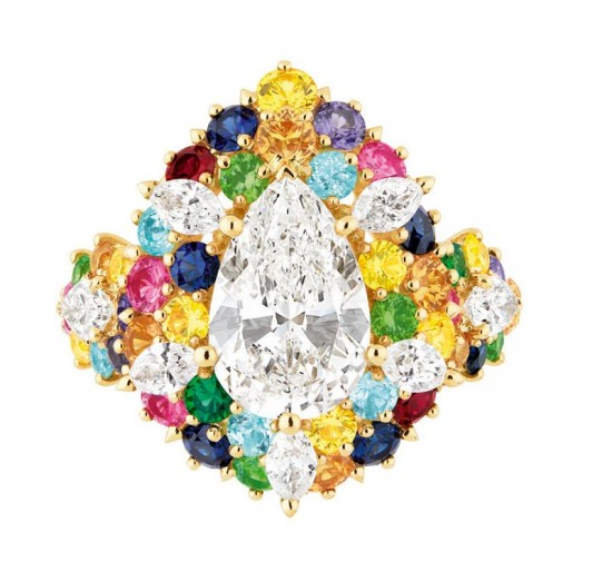 缤纷绚烂 Cher Dior高级珠宝系列-精美珠宝【秘密:适合高贵女人的珠宝】