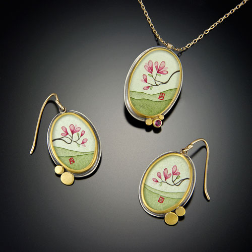 Ananda Khalsa中国水墨画风格首饰-珠宝设计【哇!行业大师灵魂之作】
