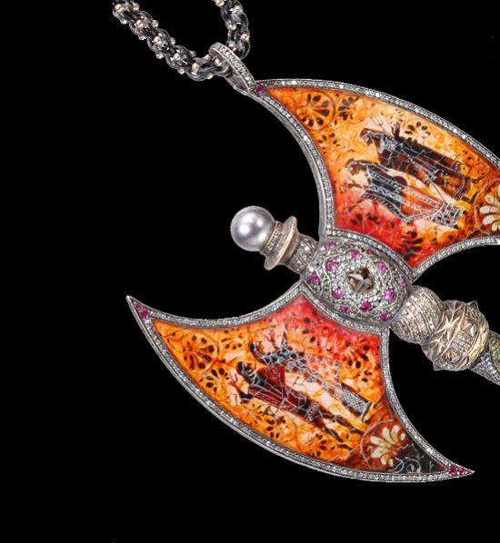 珠宝设计风格中的阴暗面-珠宝设计【哇!行业大师灵魂之作】
