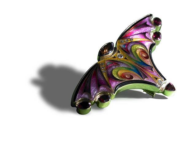 2010 Saul Bell 珠宝设计获奖作品(Enamel)-珠宝设计【哇!行业大师灵魂之作】