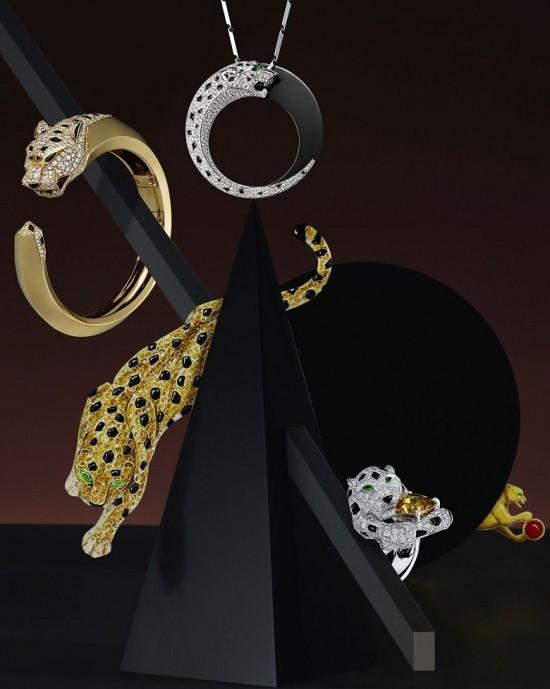 卡地亚(Cartier)的美洲豹图腾
