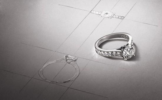 Cartier婚戒:要为你特别而制-精美珠宝【秘密:适合高贵女人的珠宝】