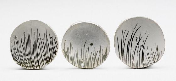 Emma Fielden设计的Grass系列胸针-珠宝设计【哇!行业大师灵魂之作】