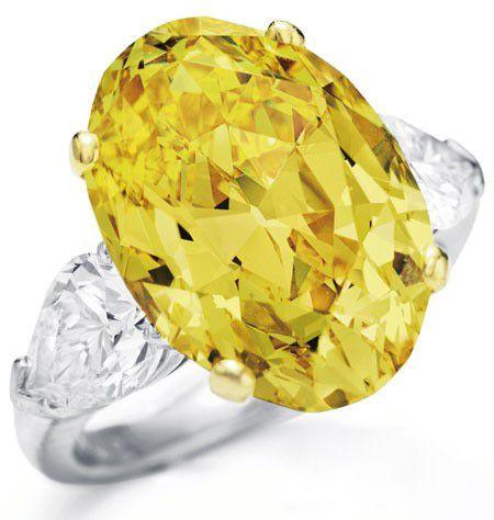 顶级珠宝品牌的稀世黄钻-珠宝首饰展示图【行业经典】