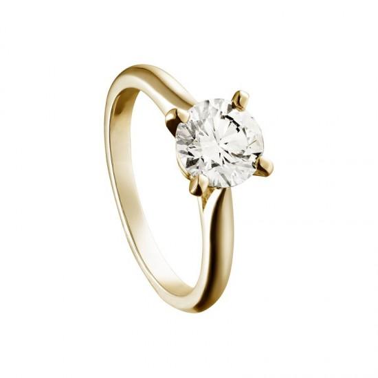 见证幸福誓约 卡地亚Solitaire 1895经典婚戒-精美珠宝【秘密:适合高贵女人的珠宝】