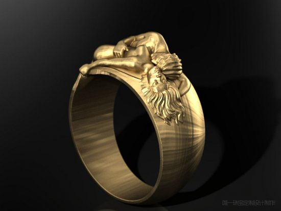指环故事:伊甸园-珠宝设计【哇!行业大师灵魂之作】