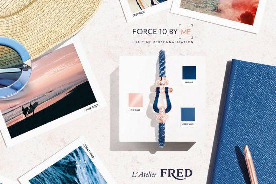 打造独一无二!FRED推出FORCE 10手链定制服务