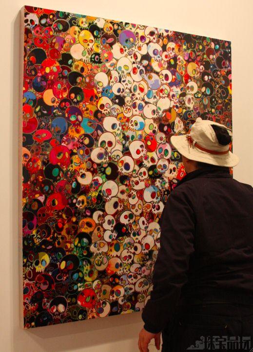 Damien Hirst:婴儿版白金钻石骷髅-珠宝首饰展示图【行业经典】