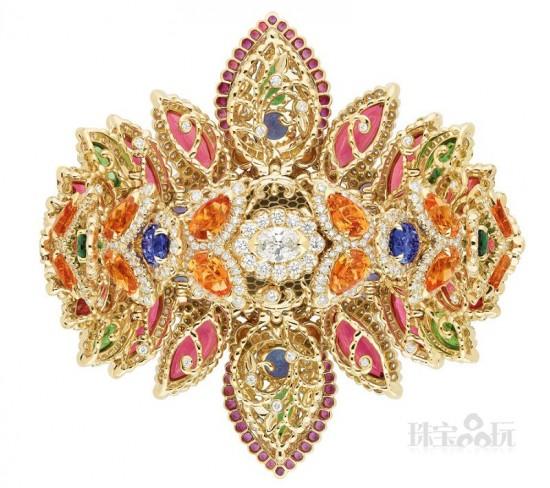 缤纷夺目 Dear Dior高级珠宝系列-精美珠宝【秘密:适合高贵女人的珠宝】