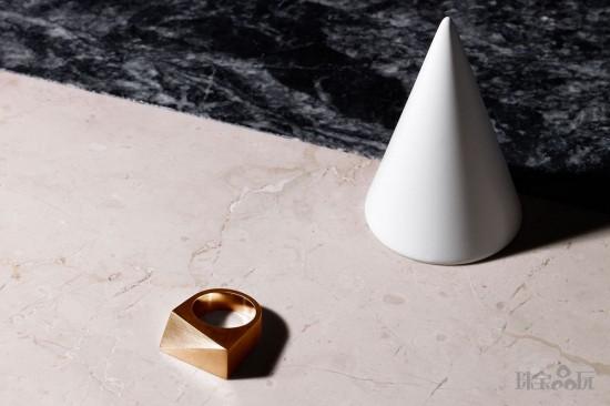 简约而不简单 Patrik Hansson的珠宝几何玩法