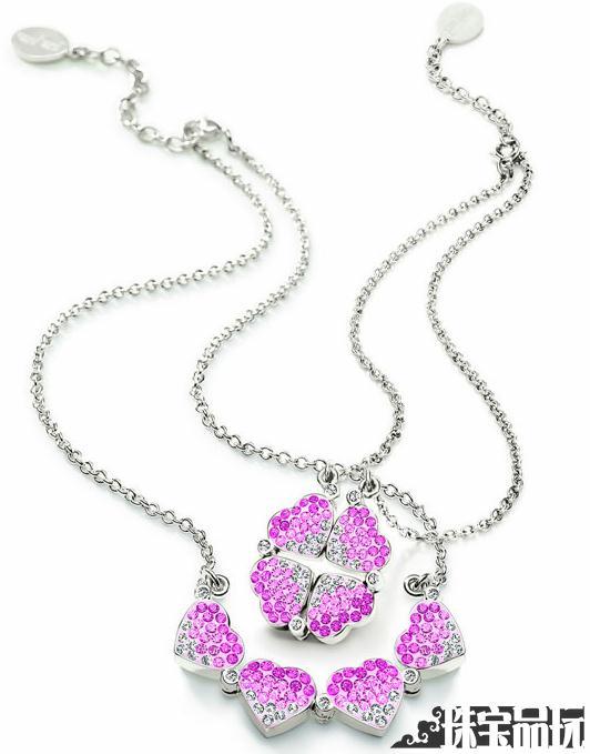 2011情人节最浪漫的礼物:全新Heart4Heart项链-珠宝首饰展示图【行业经典】