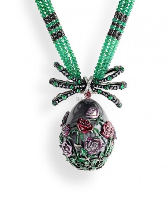 致敬传奇女皇 法贝热(Fabergé)全新复活节玫瑰彩蛋-精美珠宝【秘密:适合高贵女人的珠宝】