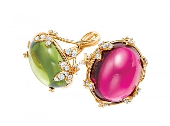 Tiffany设计师帕洛玛•毕加索Olive Leaf珠宝系列