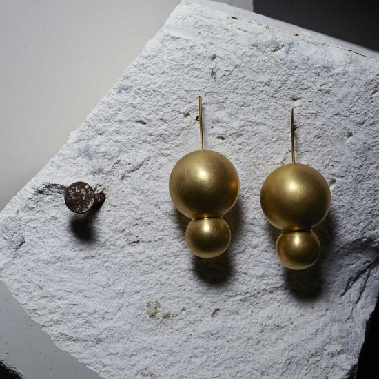 Mara Irsara几何图形珠宝 打造简约之美