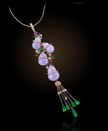 中西合璧 点睛品Auspicious Collection吉祥系列(二)-珠宝首饰展示图【行业经典】