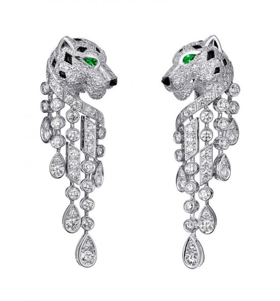 敬畏大自然 卡地亚(Cartier)Naturellement高级珠宝系列-精美珠宝【秘密:适合高贵女人的珠宝】