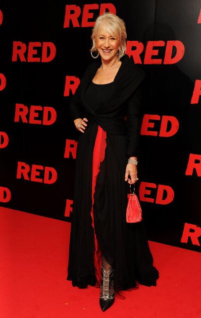 海伦米兰佩戴Chopard珠宝出席超危险特工首映会-珠宝首饰展示图【行业经典】