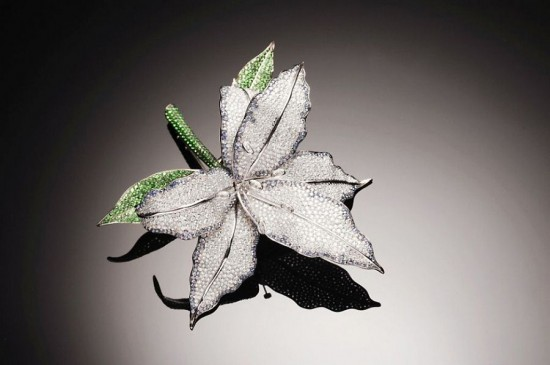 Henri J. Sillam绽放迷人花卉-精美珠宝【秘密:适合高贵女人的珠宝】