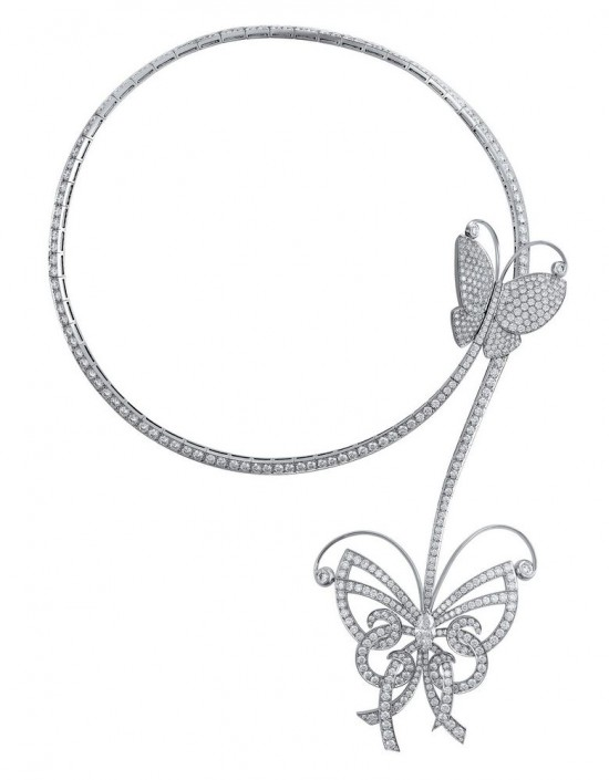 Van Cleef & Arpels:蝶舞翩翩-精美珠宝【秘密:适合高贵女人的珠宝】