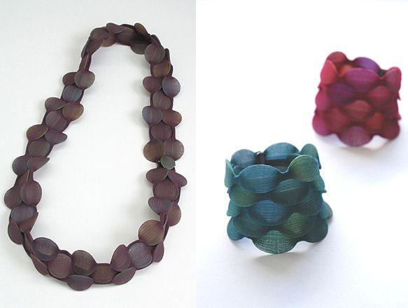 日本设计师Yoko Izawa:面纱首饰-创意珠宝