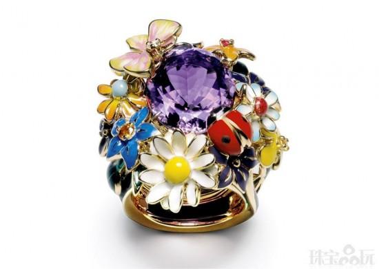 Dior的珠宝花园-精美珠宝【秘密:适合高贵女人的珠宝】