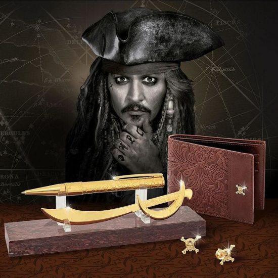 海盗来袭!法国都彭推出《加勒比海盗5》限量配饰系列
