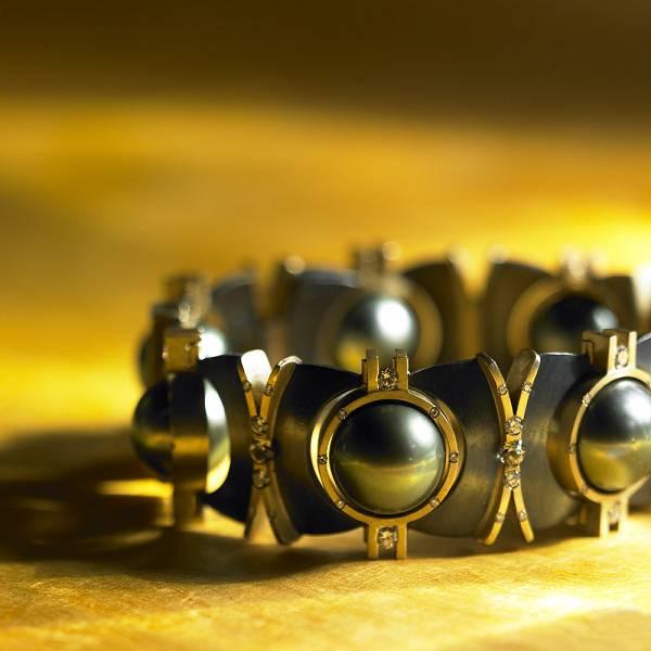 2010 Saul Bell 珠宝设计获奖作品(Silver/Argentium® Silver)-创意珠宝