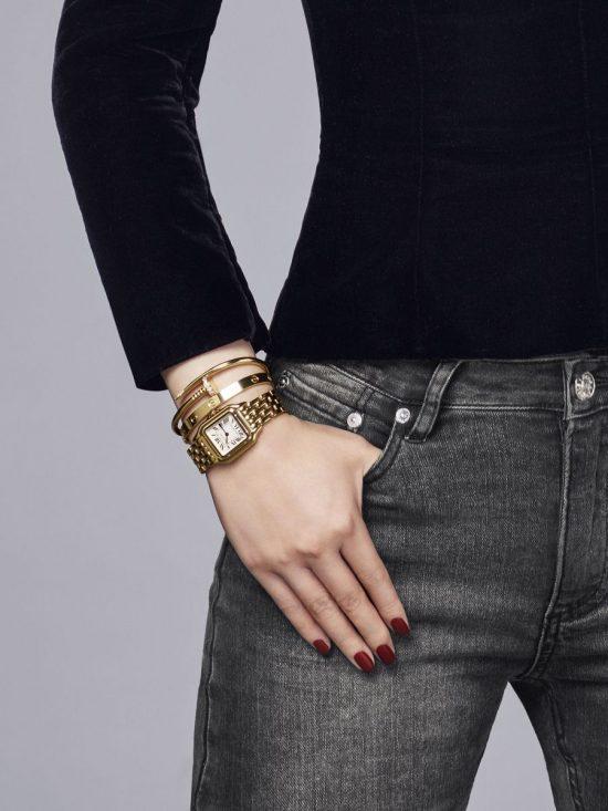 做个猎豹女人!卡地亚全新Panthère de Cartier女士腕表