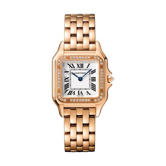 做个猎豹女人!卡地亚全新Panthère de Cartier女士腕表-珠宝首饰展示图【行业经典】