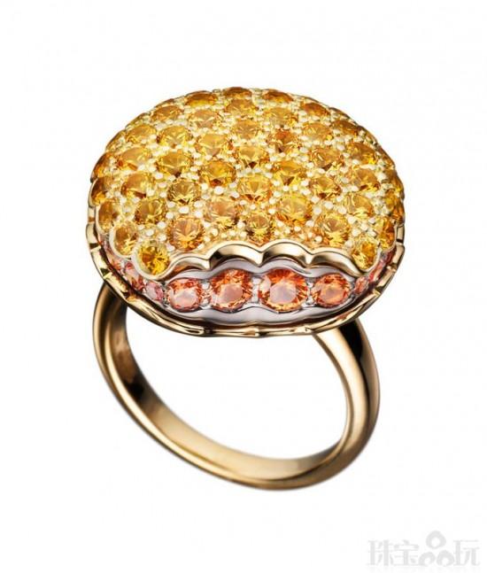 五色甜点 宝诗龙(Boucheron)Tentation Macaron珠宝系列-精美珠宝【秘密:适合高贵女人的珠宝】