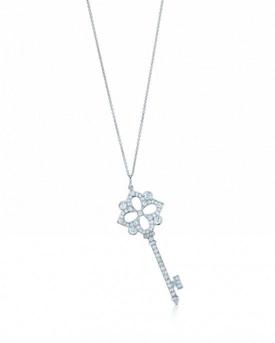Tiffany Keys珠宝系列 开启浪漫之旅-精美珠宝【秘密:适合高贵女人的珠宝】
