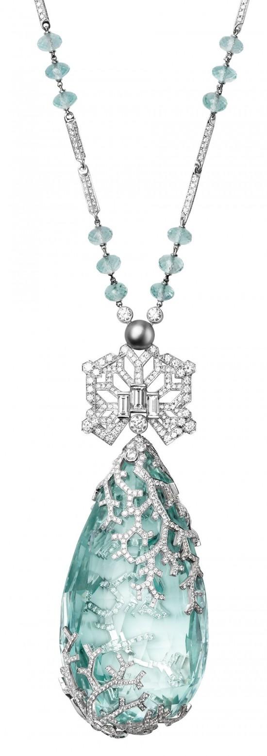 卡地亚(Cartier)2012巴黎古董双年展-精美珠宝【秘密:适合高贵女人的珠宝】