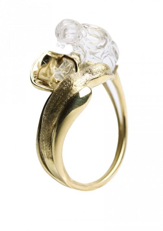 Jordan Askill:雕塑珠宝
