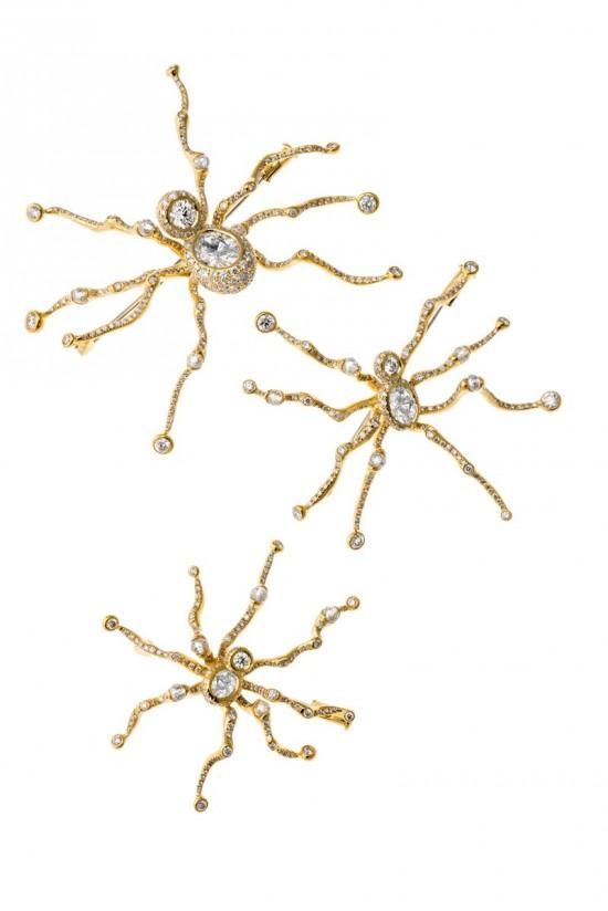 趣意盎然 Cindy Chao蜘蛛主题珠宝-珠宝设计【哇!行业大师灵魂之作】