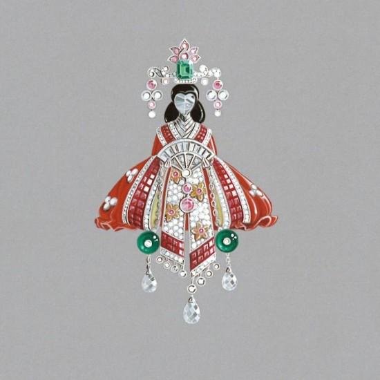 梵克雅宝Palais de la chance高级珠宝系列 开启幸运之门-精美珠宝【秘密:适合高贵女人的珠宝】