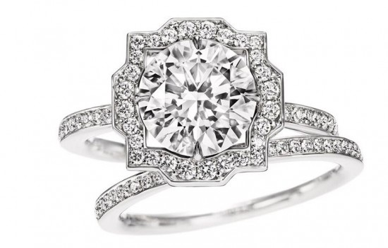 赞颂世间爱情 海瑞温斯顿全新Belle婚戒系列-精美珠宝【秘密:适合高贵女人的珠宝】