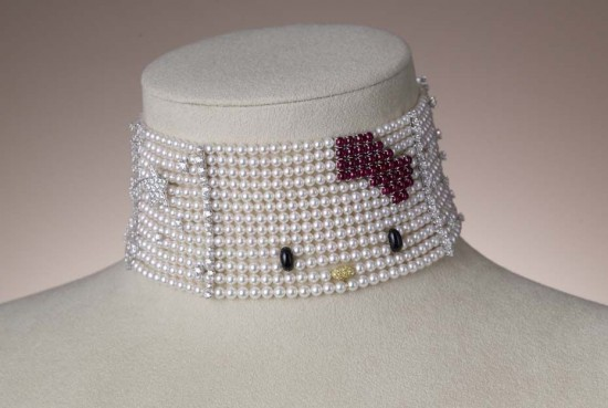 Hello Kitty珠宝打造少女气质