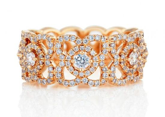 超凡脱俗 De Beers Enchanted Lotus钻饰系列-精美珠宝【秘密:适合高贵女人的珠宝】