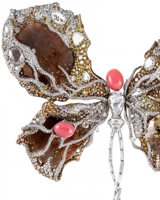 Cindy Chao2014年度新作:芭蕾蝴蝶胸针-珠宝设计【哇!行业大师灵魂之作】
