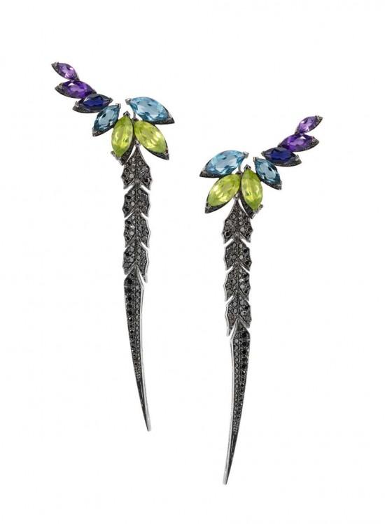 斯蒂芬•韦伯斯特:Magnipheasant-珠宝设计【哇!行业大师灵魂之作】