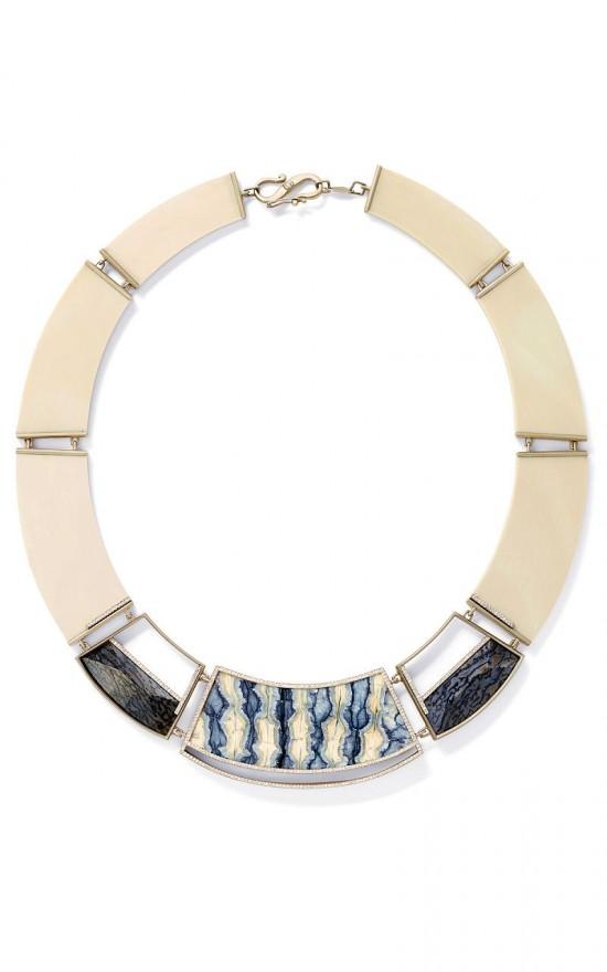 Monique Pean:猛犸象牙钻石项圈