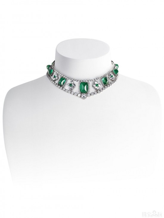 再现梦幻传奇 Fabergé罗曼诺夫高级珠宝项链-精美珠宝【秘密:适合高贵女人的珠宝】