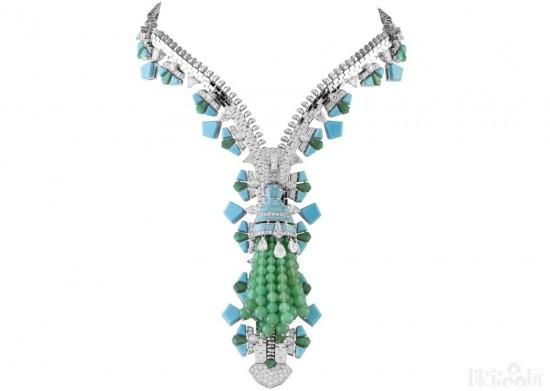梵克雅宝:拉链项链( Zip Necklace)-精美珠宝【秘密:适合高贵女人的珠宝】