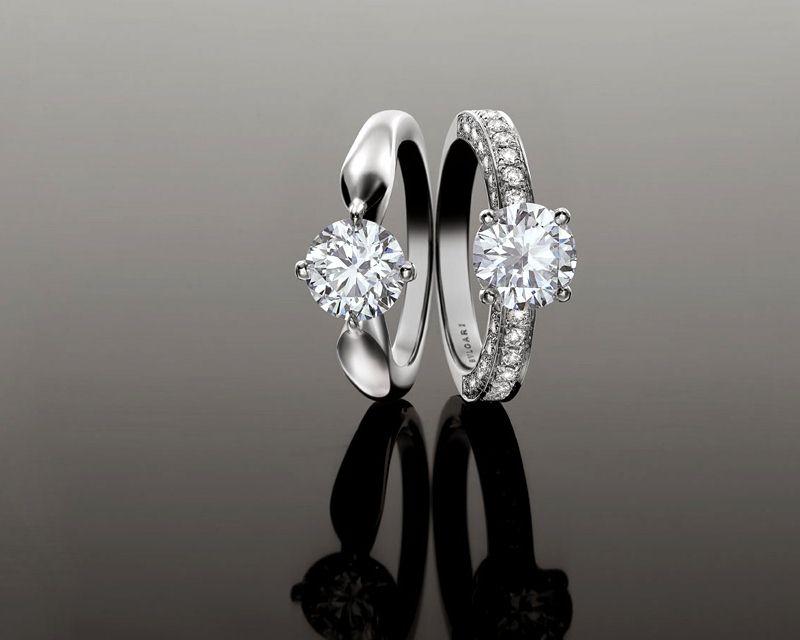 BVLGARI宝格丽婚戒:铭记真爱誓言-精美珠宝【秘密:适合高贵女人的珠宝】