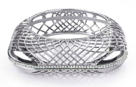 巧思妙想 Lara Bohinc最新钯金首饰系列-珠宝设计【哇!行业大师灵魂之作】