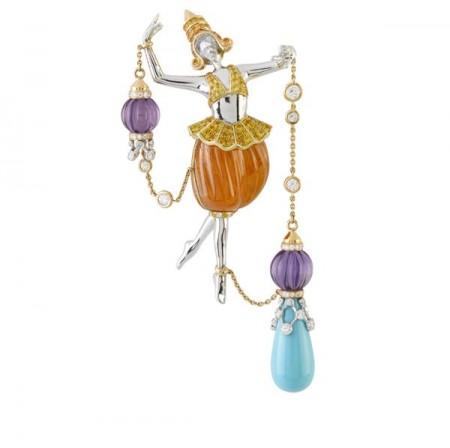 梵克雅宝Bals de Légende:巴黎东方舞会-精美珠宝【秘密:适合高贵女人的珠宝】
