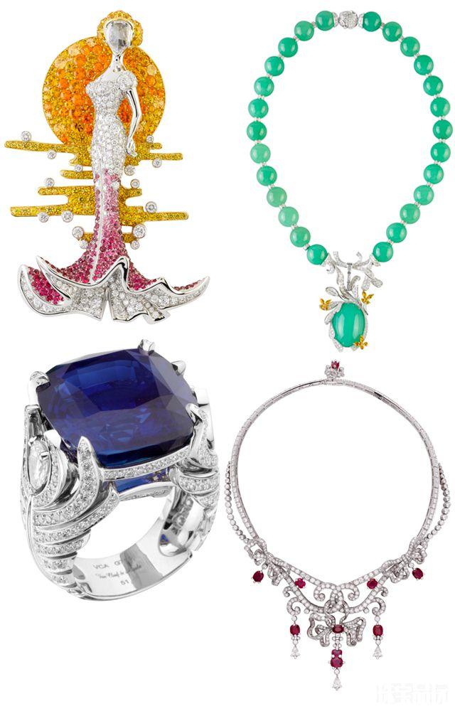 梵克雅宝Bals de Légende:普鲁斯特舞会-精美珠宝【秘密:适合高贵女人的珠宝】