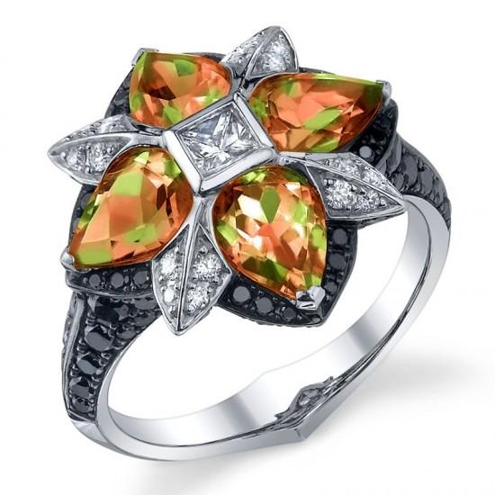 斯蒂芬•韦伯斯特:水铝石(Zultanite)系列首饰-珠宝设计【哇!行业大师灵魂之作】