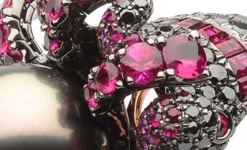 """令人窒息的美 Autore""""冰与火""""主题珠宝-珠宝设计【哇!行业大师灵魂之作】"""