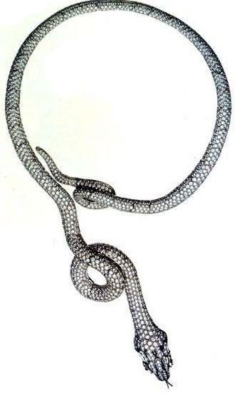 Boucheron 非蛇莫属-珠宝设计【哇!行业大师灵魂之作】